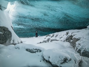 Onyx Cave (Stones Against Diamonds) by Isaac Julien contemporary artwork