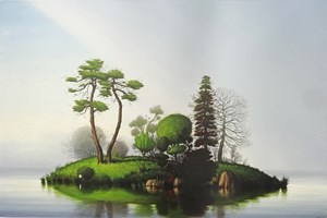 In The Company of Trees by Alexander McKenzie contemporary artwork