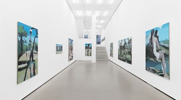 Contemporary art exhibition, Marc Desgrandchamps, Standbilder at Galerie Eigen + Art, Berlin