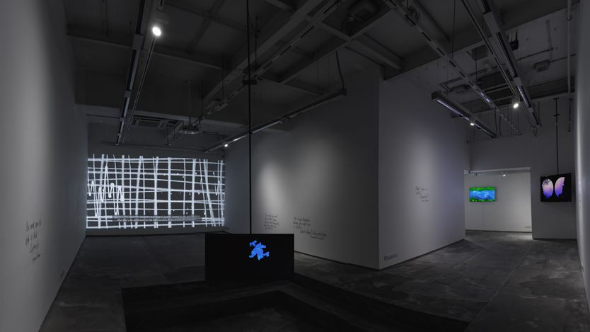 Exhibition view: Abhishek Hazra, Between Repetition & Reticence, Experimenter, Hindustan Road (9–30 September 2020). Courtesy Experimenter.
