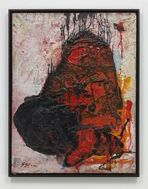 Untitled by Shozo Shimamoto contemporary artwork