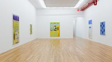 Contemporary art exhibition, Kim Dingle, Restaurant Mandalas at Andrew Kreps Gallery, 22 Cortlandt Alley, New York