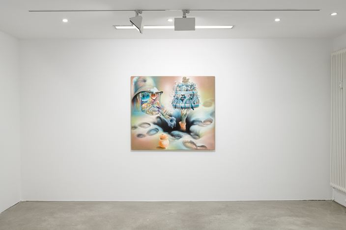 Exhibition view: Bernhard Martin, Do's And Don'ts And Want's And Won'ts, Choi&Lager Gallery, Cologne (4 September–1 November 2020). Courtesy Choi&Lager Gallery.