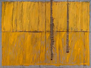 Untitled (Yellow) by Charlie Ingemar Harding contemporary artwork