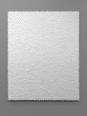 White / White #4 by Lars Christensen contemporary artwork painting