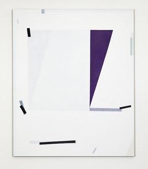 Wedge Purple by Lynne Eastaway contemporary artwork