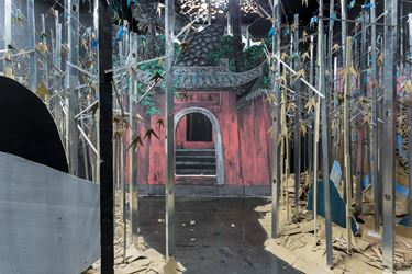 Exhibition view: Liang Shuo,Temple of Candour, Beijing Commune, Beijing (8 March–30 April, 2016). Courtesy the Artist and Beijing Commune.