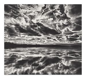 Traveling Shadowed Light by April Gornik contemporary artwork