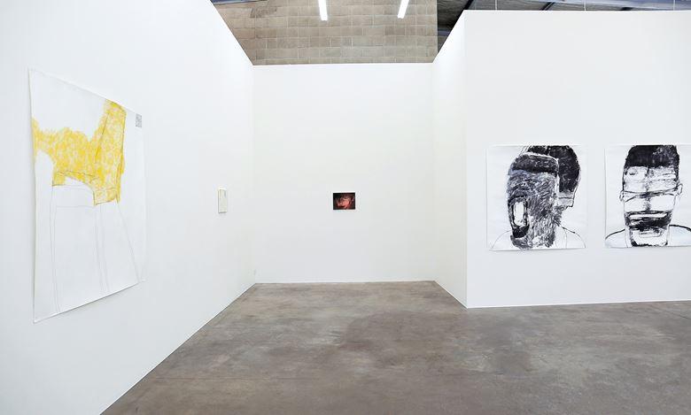 Exhibition view: Kristin Stephenson, Skinning, Jonathan Smart Gallery, Christchurch (1–19 December 2020). Courtesy Jonathan Smart Gallery.