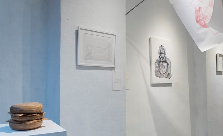 Exhibition view: Engku Iman, Rukun Iman, A2Z Art Gallery, Hong Kong (20 September–21 October 2018). Courtesy A2Z Gallery, Hong Kong.