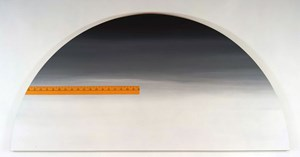 Yardstick (left), Yardstick (right) (Canvas 'right') by Ed Ruscha contemporary artwork