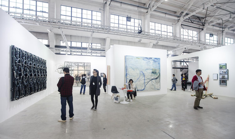 Exhibition view, ShanghART Gallery at The Shanghai West Bund Art & Design Fair, 2016. Image courtesy West Bund.