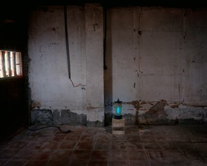 Pagoda Mosquito Lamp, Found at Treasure Hill《捕蚊燈塔(拾於寶藏巖)》 by Yeh Wei-Li contemporary artwork