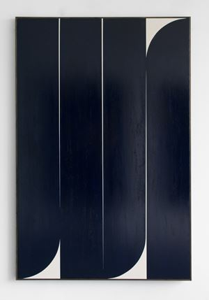 Dark Blue #3 by Johnny Abrahams contemporary artwork