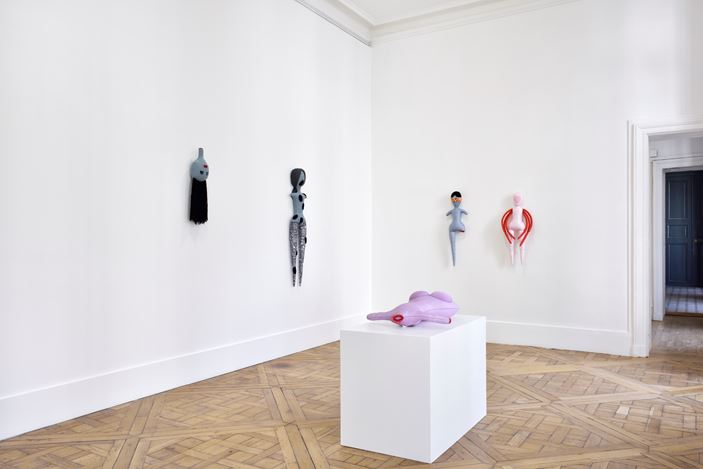 Exhibition view: Penny Goring, Escape from Blood Castle, Campoli Presti, Paris (14 March–14 July 2020). Courtesy the artist and Campoli Presti, London / Paris.