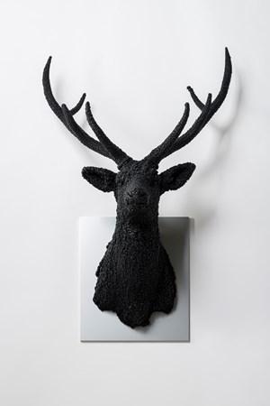 Villus-Deer (Black) by Kohei Nawa contemporary artwork