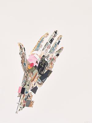 Hand of Constantine II by Clive Van Den Berg contemporary artwork