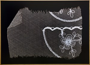 Lace by Angelika Krinzinger contemporary artwork