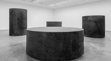 Contemporary art exhibition, Richard Serra, Sculpture and Drawings at David Zwirner, 20th Street, New York