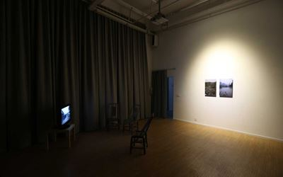 Exhibition view: Lin Wei-lung,Residence project: Circulation / Tianfu District, A Thousand Plateaus Art Space, Chengdu (29 December–4 March 2016). Courtesy A Thousand Plateaus Art Space.