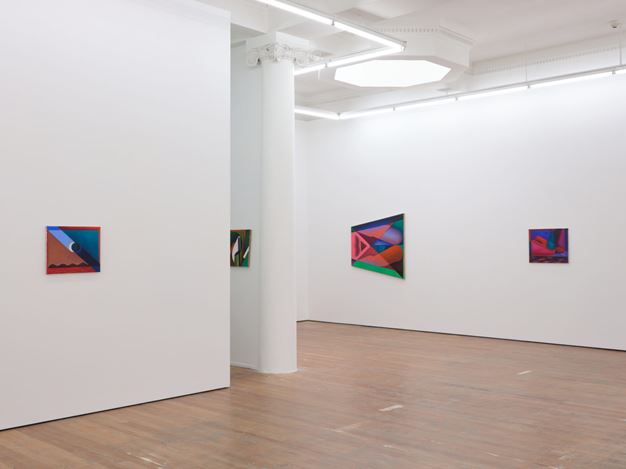 Exhibition view: Imogen Taylor, Thirsty Work, Michael Lett, Auckland (28 January–27 February 2021). Courtesy Michael Lett.
