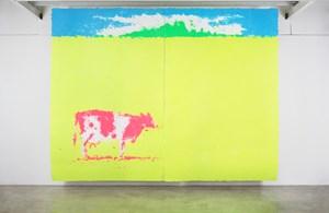 Pasture by Shinro Ohtake contemporary artwork