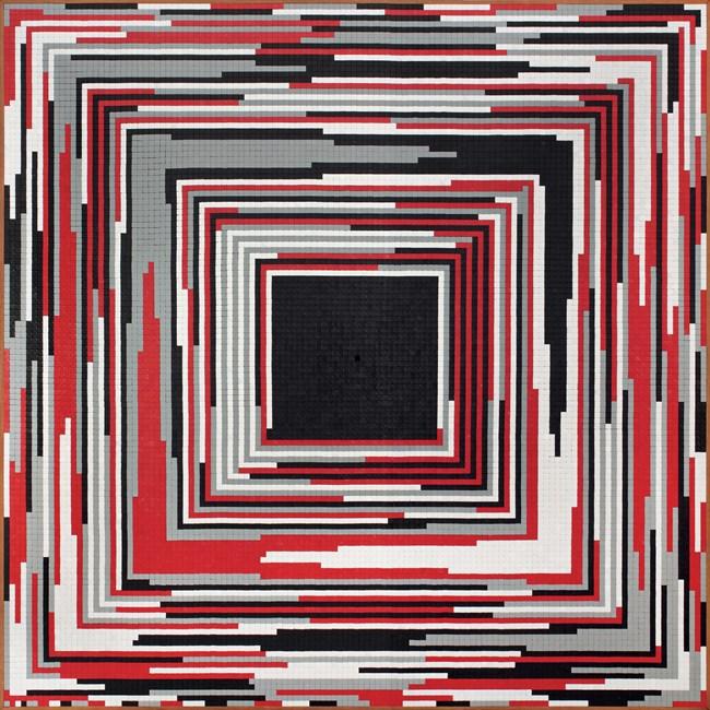 Acumulação progressiva decrescente by José Patrício contemporary artwork