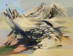 The Holy Mountain by Yang Chihung contemporary artwork