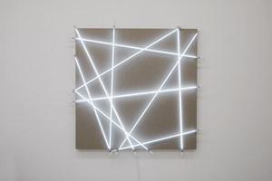 10 tubes de néon au hasard n°8 by François Morellet contemporary artwork