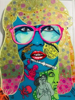 Ngaio by Sam Mitchell contemporary artwork