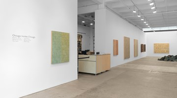 Contemporary art exhibition, Group Show, Chicago Invites Chicago at Galerie Lelong & Co. New York, New York