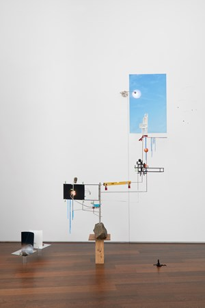 Model for a Weather Vane by Sarah Sze contemporary artwork