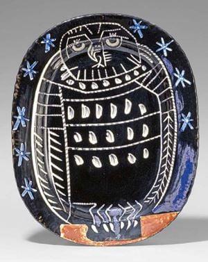 Hibou Brillant by Pablo Picasso contemporary artwork