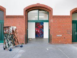"""Navid Nuur<br><em>When meanings get marbled</em><br><span class=""""oc-gallery"""">Kunstgalerie Lutea Pop GmbH / Galeria Plan B</span>"""