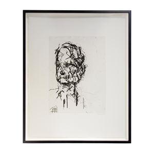 David Landau by Frank Auerbach contemporary artwork
