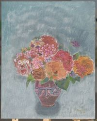 Unique Fragrance 孤芳 by Shen Ling contemporary artwork painting