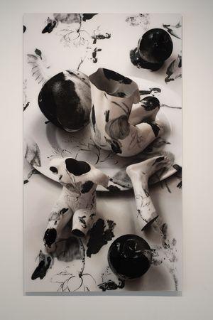 Fragile-Adam & Eve by Kim Joon contemporary artwork