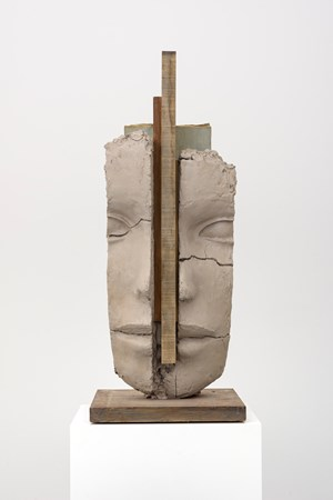Dry Clay Head by Mark Manders contemporary artwork
