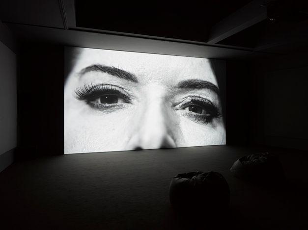Exhibition view: Marina Abramović, Seven Deaths,Lisson Gallery, Lisson Street, London (14 September–30 October 2021). © Marina Abramović. Courtesy Lisson Gallery.