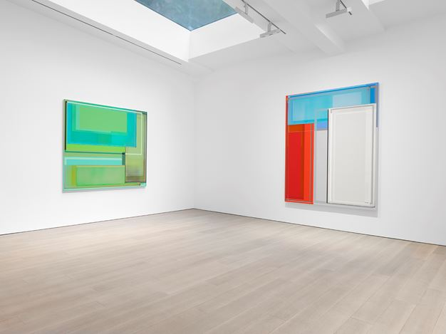 Exhibition view: Patrick Wilson, Miles McEnery Gallery, 525 West 22nd Street, New York (10 October–9 November 2019). Courtesy Miles McEnery Gallery.