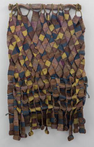 Manto de greda [Clay Mantle] by Olga de Amaral contemporary artwork