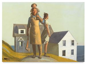 Homestead by Bo Bartlett contemporary artwork