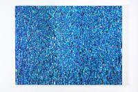 Blue Reflection by Katsumi Hayakawa contemporary artwork painting, sculpture, mixed media