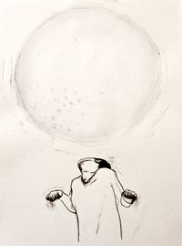 Pressure is a Big Sphere I by Claire Lee contemporary artwork works on paper