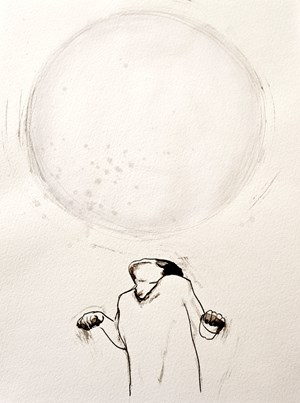 Pressure is a Big Sphere I by Claire Lee contemporary artwork