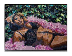 Garden Celebration by Frances Goodman contemporary artwork
