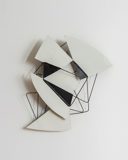 Plans mobiles n°2 / Girouette by Pol Bury contemporary artwork