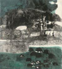 凝視 The Gaze by Lee Chung-Chung contemporary artwork painting, works on paper, drawing