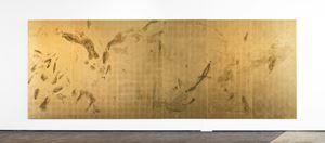 Sweat print no. 20, 6 metre movement by Pierre Vermeulen contemporary artwork sculpture
