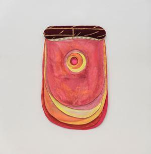 Rosa by Leda Catunda contemporary artwork